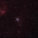 NGC3293 The Little Jewel Box and nebula IC2599 ,                                Geoff Scott