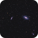 M81 and M82 galaxies,                                Mike Carroll