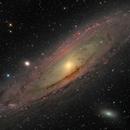 Andromeda galaxy 2020,                                Christer Strandh