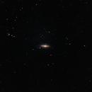 M104 Sombrero Galaxy - Remastred,                                Andreas Nilsson