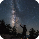 The night sky of Crete,                                Sebastian Voltmer