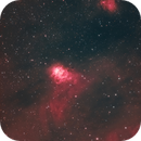 Northern Lagoon Nebula - More Natural Look,                                  Chuck's Astrophot...