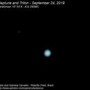 Neptune and Triton - September 24, 2019,                                Fábio