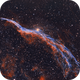 NGC 6960 - The Witch's Broom in HOO,                                CrestwoodSky