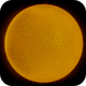 Sun with active surface and cromosphere,                                Andreas Nilsson