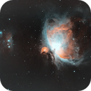 Orion Nebula M42 in two channel narrowband,                                Will Czaja