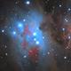 NGC1977 - The Running Man Nebula,                    Davide Coverta