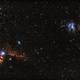 Orion: Pferdekopfnebel, Flammen-Nebel, M42, M43 und Running Man,                                Matthias Groß