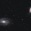 M81 and M82,                                John Leader