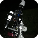 The Skywatcher 80ED and Altair mini-guider,                                Mark Spruce