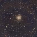 M101 - Pinwheel galaxy,                                HeLiTiK
