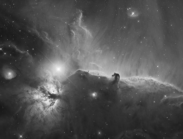 The Horsehead nebula, Barnard 33,                                Marcel Drechsler