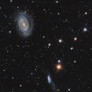 NGC 4725 LRGB,                                Vince