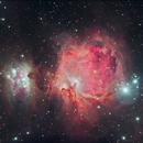 M42 Orion Nebula,                                Mark Eby