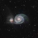 M51-Whirlpool Galaxy,                                  Jeff Ball