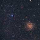 IC 342 Hidden Galaxy 14.10.2018,                                  Hakan Midik