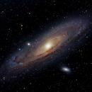M31 Andromeda Galaxy,                                Åke Liljenberg