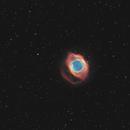 NGC 7293 the Helix nebula,                                Steve Coates