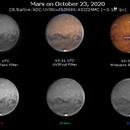 Mars on October 23, 2020 (OSC RGB and IR),                                JDJ