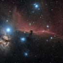 The Horsehead Nebula in HaLRGB,                                Alex Roberts