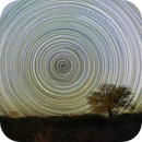 Southern Celestial Pole from Atacama,                                Cluster One Observatory