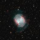 Ha-O3 M27 RGB Stars,                                Bill McLaughlin