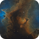 IC 1871 The Whirling Dervish Nebula,                                  Barry Wilson