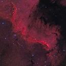 Great Wall Nebula in NGC 7000,                                Göran Nilsson