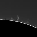 H-alpha protuberances - End of my april solar trip,                                  Jean-Marie MESSINA