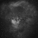 A Gorilla in Cepheus: NGC7822,                                Valentine Treshchun