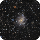 NGC 6946 Fireworks Galaxy and SN2017eaw,                                Chad Andrist