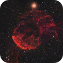 The IC443 supernova remnant from Bortle 7,                                Francesco Meschia