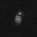 M51 - Whirlpool Galaxy,                                apothegary