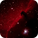 Horsehead nebula,                                Justin Daniel