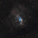 Bubble Nebula,                                Muhammad Ali