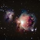 Orion Nebula and Running Man Nebula,                                Joshua July