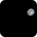 Jupiter with Red Spot and 3 moons,                                Charles Terrell