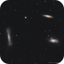 The Leo Triplet from a Red Zone,                                Douglas J Struble