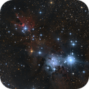 NGC2264 Cone Nebula and Christmas Tree Cluster,                                Gebhard Maurer