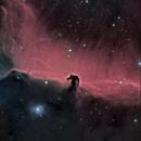 IC434 . NGC 2023, close up Horse Head nebula,                                JAIME FELIPE RAMI...