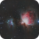 M42 and Running Man,                                ScottyP5947