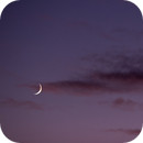 Crescent Moon - Jupiter and Saturn @ 135 mm,                                Wolfgang Zimmermann