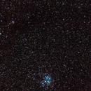 Comet Lovejoy, Pleiades and California Nebula,                                Die Launische Diva