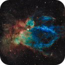 Sh2-157 - The Lobster Claw Nebula in Cassiopeia - SHO,                                Daniel.P