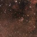 NGC 6888 - CRESCENT NEBULA,                                Rino