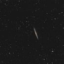 """Die """"Super-Thin-Galaxie"""" NGC 5907 im Drachen (Draco),                                astrobrandy"""