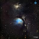 M78 reflection nebula in Orion,                                Francesco di Biase
