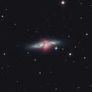 M82/NGC 3034,                                Daniel Weitendorf
