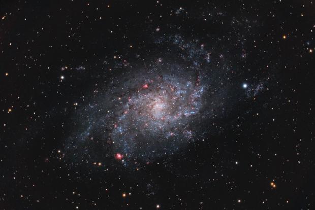 Messier 33,                                drivingcat