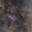 M8 through M17 in Summer from Mountain Cabin,                                Scott Denning